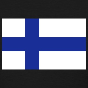 Black Finnish Flag Women's T-Shirts - Women's T-Shirt