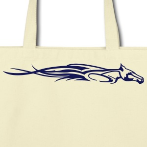 Creme Flamen' Horse Bags  - Eco-Friendly Cotton Tote