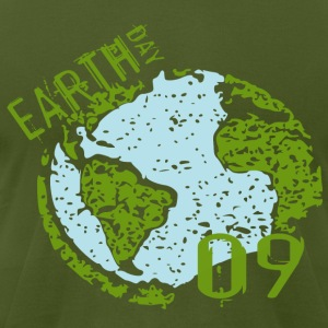 EARTH DAY 2009 - Men's T-Shirt by American Apparel