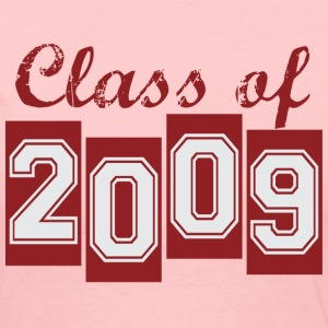 Light pink class_of_2009 Long Sleeve Shirts - Women's Long Sleeve Jersey T-Shirt