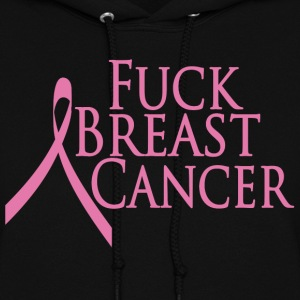Black Fuck Breast Cancer Hooded Sweatshirts - Women's Hoodie