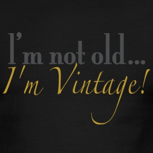 Chocolate/tan old_vintage T-Shirts - Men's Ringer T-Shirt