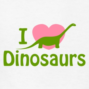 I love Dinosaurs - Kids' T-Shirt