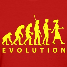 Red evolution_woman Women's T-Shirts