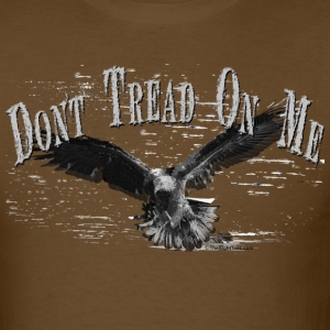 Brown DONT TREAD ON ME T-Shirts - Men's T-Shirt