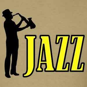 Khaki jazz T-Shirts - Men's T-Shirt