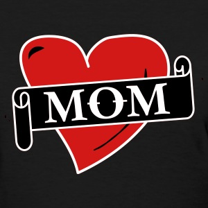 Black Mom Tattoo Women's T-Shirts - Women's T-Shirt