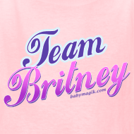 Design ~ TEAM BRITNEY Kids T-Shirt