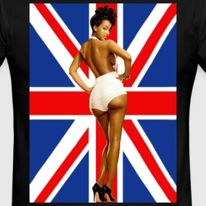 Classic Pinup Girls (2 Sided) - Men's Ringer T-Shirt
