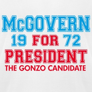White McGovern Gonzo Hunter T-Shirts - Men's T-Shirt by American Apparel