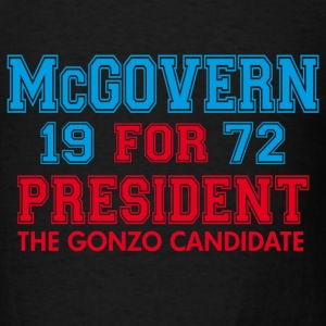 Black McGovern Gonzo Hunter T-Shirts - Men's T-Shirt