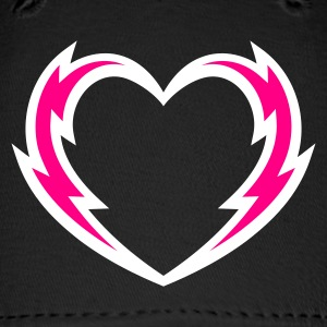 Lightning Heart Hat - Baseball Cap