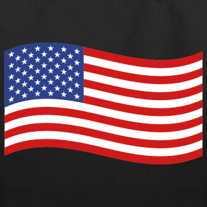 American Flag Bag - Eco-Friendly Cotton Tote