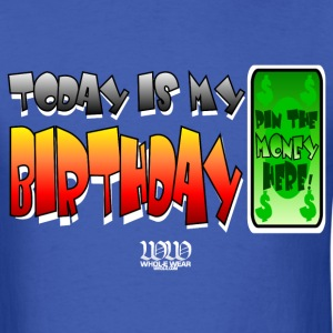 Royal blue Birthday Money2 T-Shirts - Men's T-Shirt