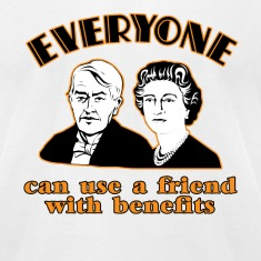 White Friends with Benefits  T-Shirts