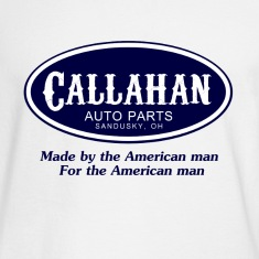 White Tommy Boy Callahan Auto Long Sleeve Shirts