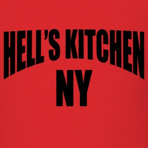 Red Hell's Kitchen NY NYC T-Shirts - Men's T-Shirt
