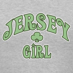 Gray jersey_girl Women's T-Shirts