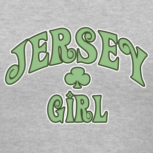 Gray jersey_girl Women's T-Shirts - Women's V-Neck T-Shirt
