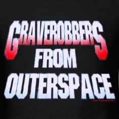 'Grave Robbers' logo t-shirt