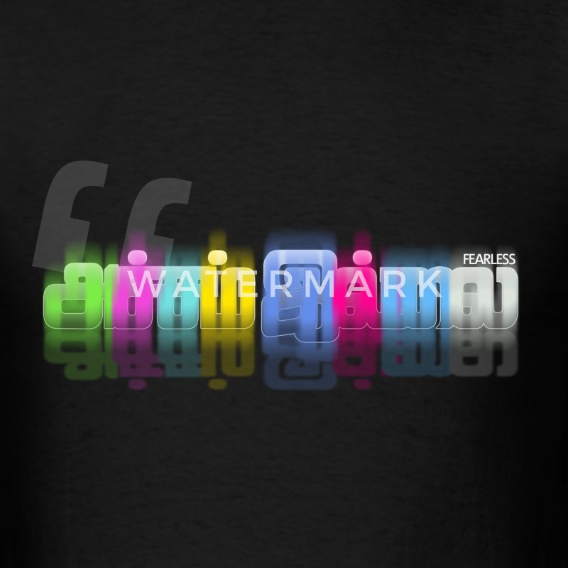 Tamil Words - No Fear - Men's T-Shirt