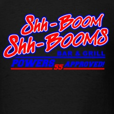Black Kenny Powers Shh Booms  T-Shirts