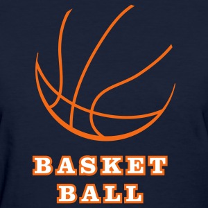 Navy basketball_5 Women's T-Shirts - Women's T-Shirt
