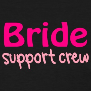 Black Bride support crew Women's T-Shirts - Women's T-Shirt