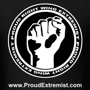 Proud Extremist Rally T - Men's T-Shirt