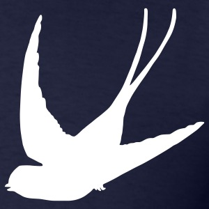 Navy Swallow T-Shirts - Men's T-Shirt