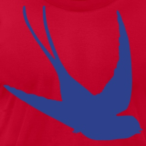 Light blue Swallow T-Shirts - Men's T-Shirt by American Apparel