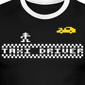 Black/white Taxidriver T-Shirts - Men's Ringer T-Shirt