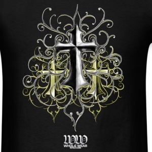 Black Crosses by TDG at WHOL-E.COM T-Shirts - Men's T-Shirt