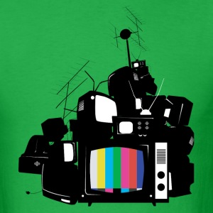 Old TV - Men's T-Shirt