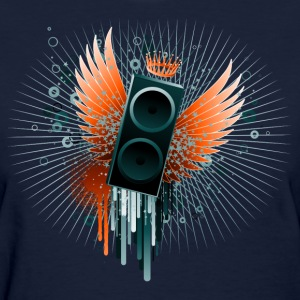 Flying Speaker - Women's T-Shirt