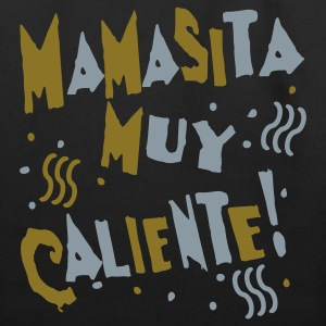 Black Mamasita Muy Caliente Bags  - Eco-Friendly Cotton Tote