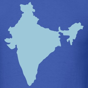 Royal blue India T-Shirts - Men's T-Shirt