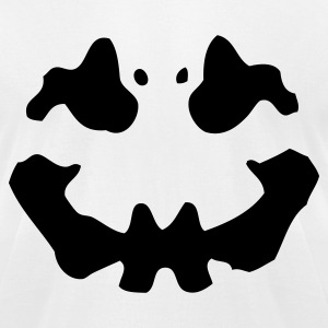 White Inkblot T-Shirts - Men's T-Shirt by American Apparel