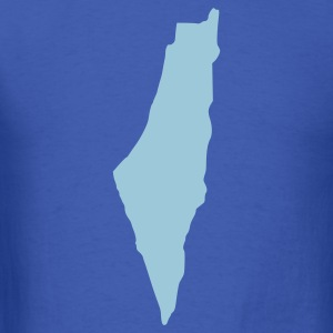 Royal blue Israel T-Shirts - Men's T-Shirt