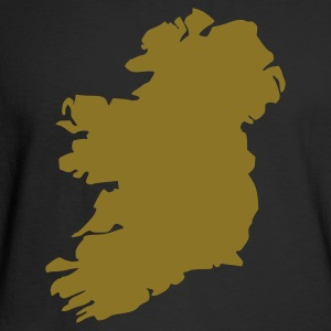 Black Ireland Long Sleeve Shirts - Men's Long Sleeve T-Shirt