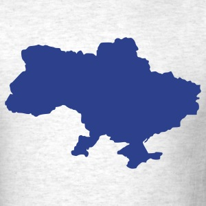 Ash  Ukraine T-Shirts - Men's T-Shirt