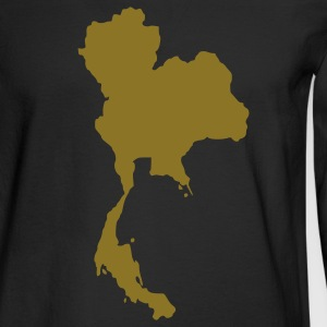 Black Thailand Long Sleeve Shirts - Men's Long Sleeve T-Shirt