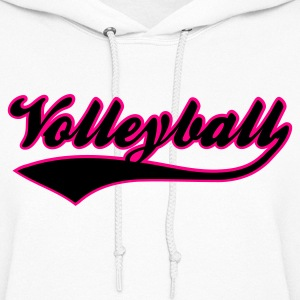 Volleyball Hooded Sweatshirt - Women's Hoodie