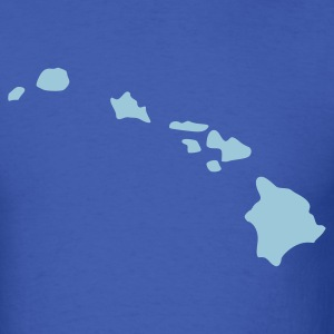 Royal blue Hawaii T-Shirts - Men's T-Shirt