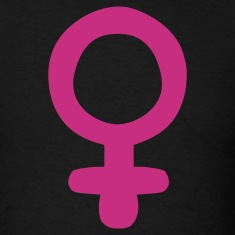 Black Female Sign / Feminism T-Shirts