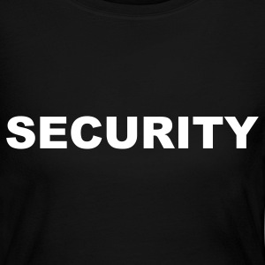 Black Security Long Sleeve Shirts - Women's Long Sleeve Jersey T-Shirt