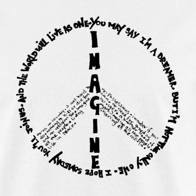 Imagine Peace(White)