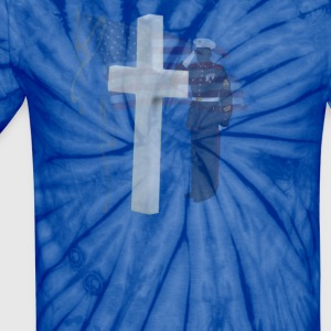 Memorial Day Salute - Unisex Tie Dye T-Shirt