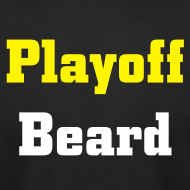 Design ~ Playoff Beard -Men's American Apparel T-shirt