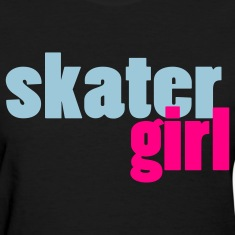 Skater Girl Women's T-Shirt